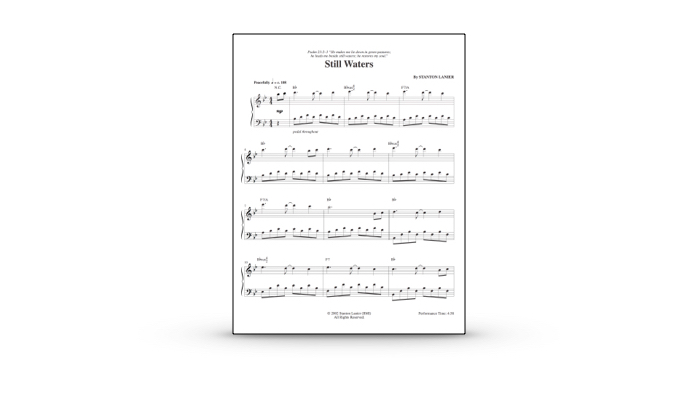 Still Waters Sheet Music Pdf