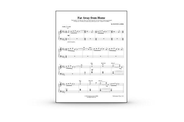 Far Away from Home Sheet Music PDF - Stanton Lanier